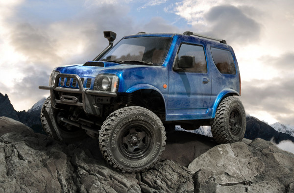 CMX J3 Crawler RTR Blau Radstand 242mm