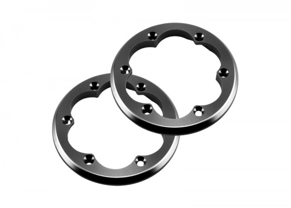 2.2 VWS Machined Beadlock Ring (Grey) (2pcs)