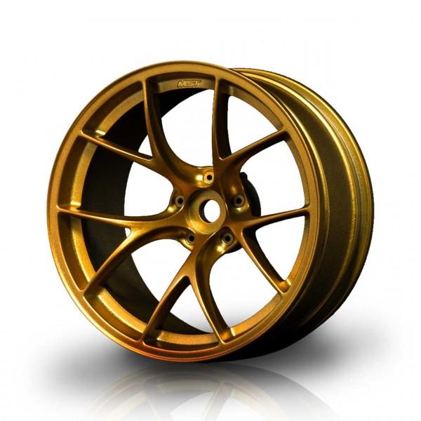 Drift Felge RID gold (+8mm Offset) (4 Stück)