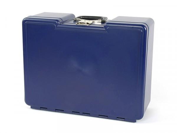 Polybutler Werkzeugkoffer blau mit 8 Schubladen