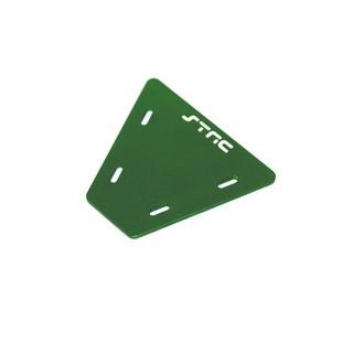 Gefräste Alu Elektronik Platte für Axial AX10 (Grün)