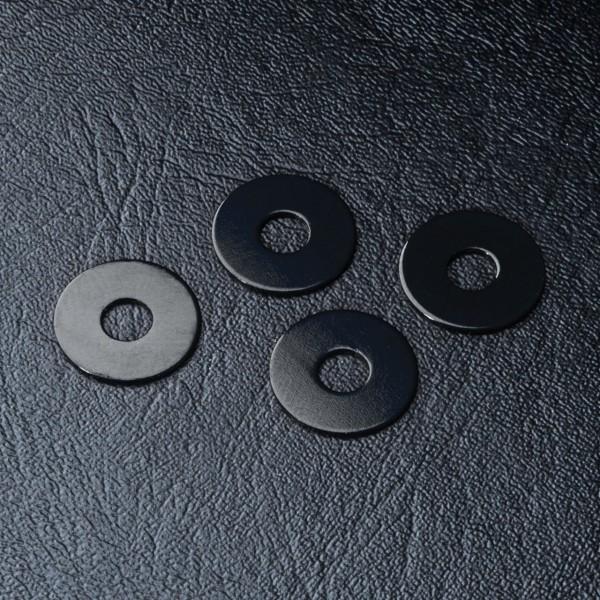 Radmitnehmer Distanzscheibe Alu 0.5mm schwarz (4 Stück)