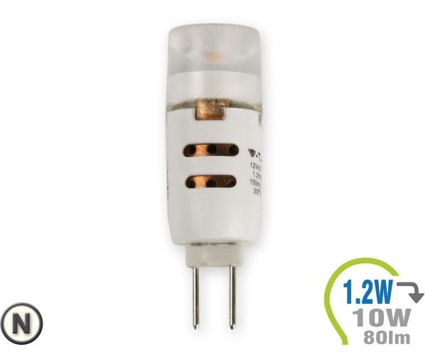 G4 LED Lampe 12V 1.2W Cree Chip (3Stk.) Neutralweiß