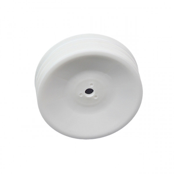 19x38mm 2WD Front Wheel 12mm*2pcs(White) For IFMAR