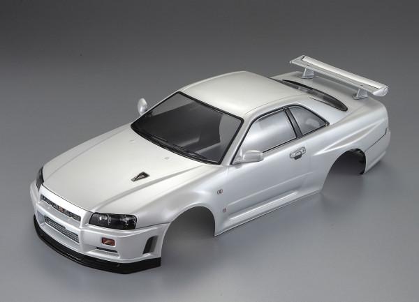 Nissan Skyline R34 Karosserie Perl Weiß 195mm RTU
