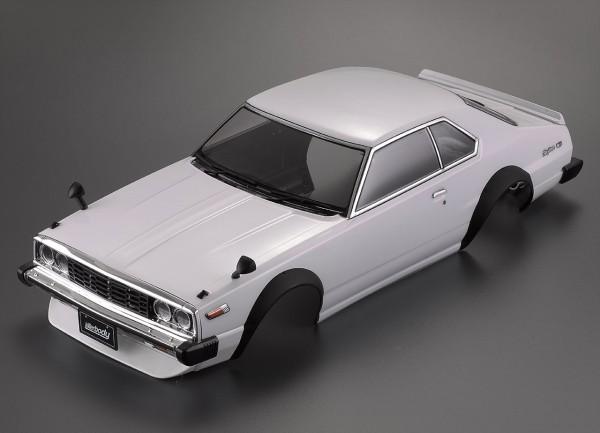 Nissan Skyline Hardtop 2000 (1977) Karosserie lackiert Weiß