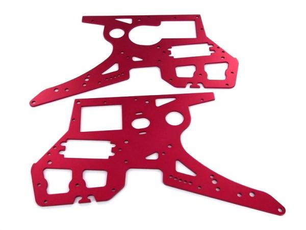 Seitenrahmen Rot für SR5 Motorrad (RB-B001/2)
