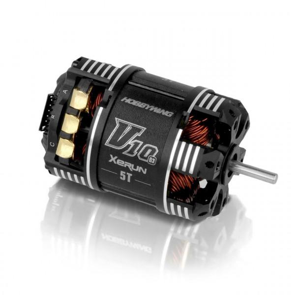 Xerun V10 Brushless Motor G3 6500kV (2s) 5T Sensored für 1:1