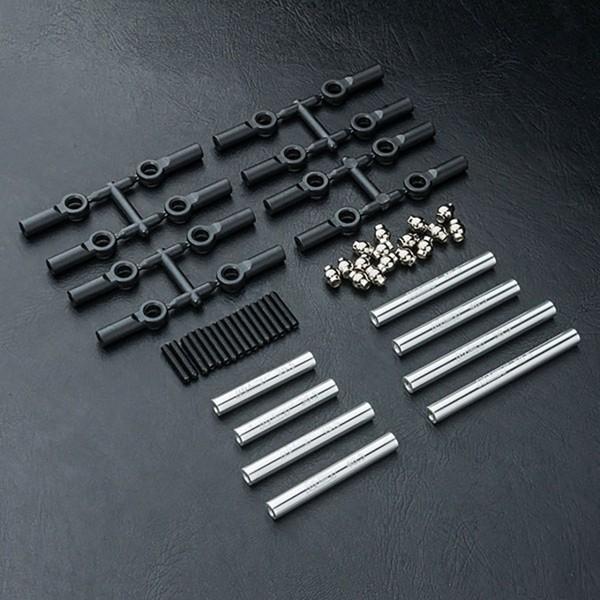 Verbindungsstange Set Alu silber 252mm CMX