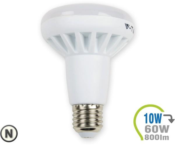 E27 LED Lampe 10W Spot R80 Neutralweiß