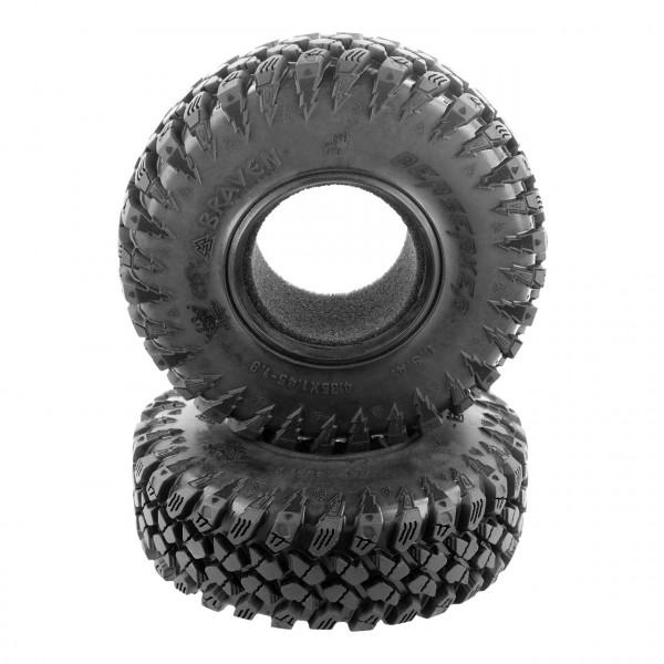 Braven Berserker 1.9 Scale Reifen Alien Kompound mit Einlage