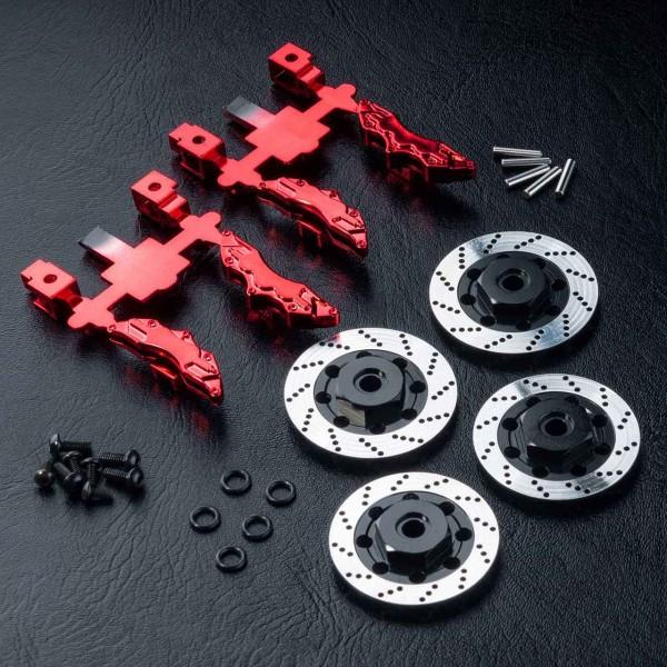 Bremsscheiben Aluminium mit Zubehör