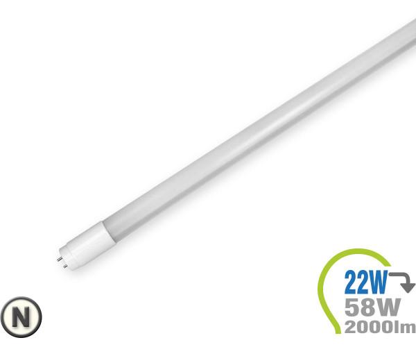 T8 LED Röhre 22W 150cm Neutralweiß 4000K 2000lm (58W)