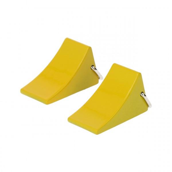 Unterlegkeile Sicherung Gelb