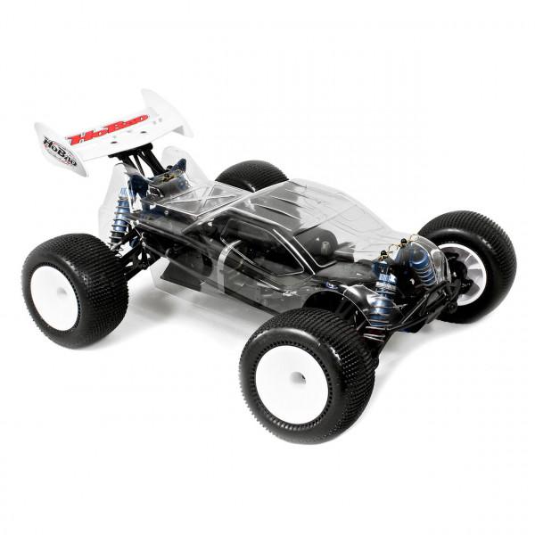 Hyper TT10 Truck 1/10 80% ARR Roller (klare Karosserie)