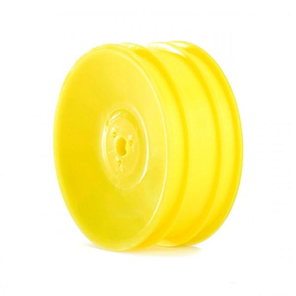 26x38mm 2WD Front Wheel 12mm*2pcs(Yellow)