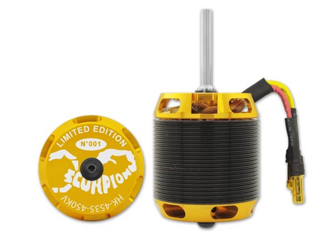 HK-4535-450kv Scorpion Motor (8mm Welle)