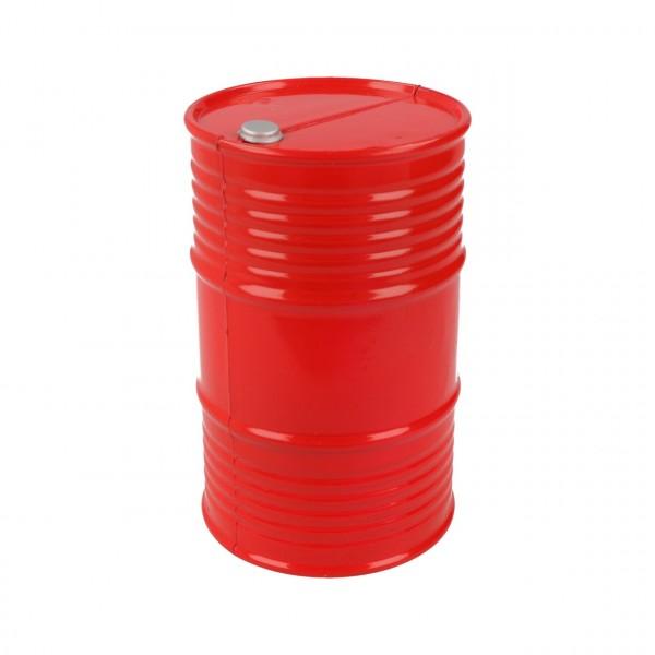 Ölfass Kunststoff Rot