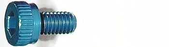 M3x6mm Zylinderkopfschraube blau (4)