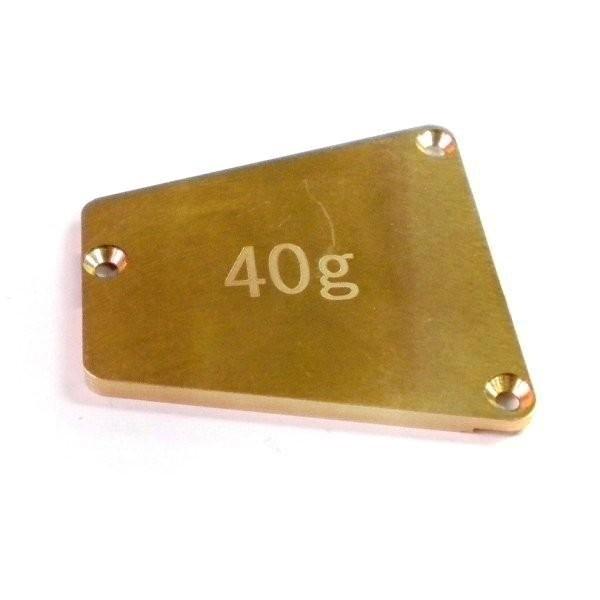 3.0mm Gewichtsplatte Mitte 40g