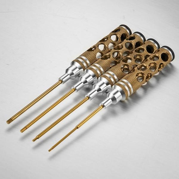 Innensechskantschlüssel Set 1,5/2,0/2,5/3,0mm