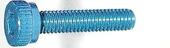 M3x14mm Zylinderkopfschraube blau (4)