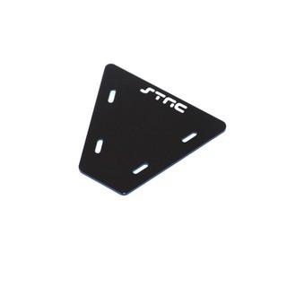 Gefräste Alu Elektronik Platte für Axial AX10 (Schwarz)