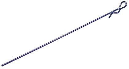 Karosserieclips Metallic Blau Extra-Lang (5 Stk.)